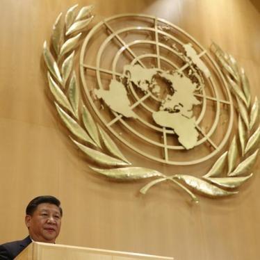 联合国人权机构应向强大但侵权的中国发出质疑