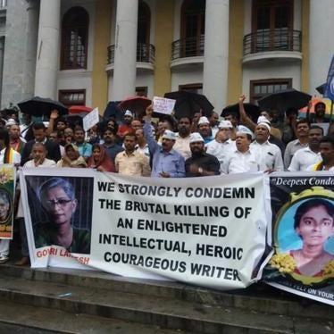 India: Ensure Full Inquiry into Journalist's Murder