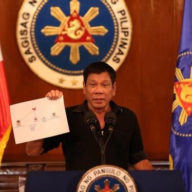 Philippine President Rodrigo Duterte's 'War on Drugs'