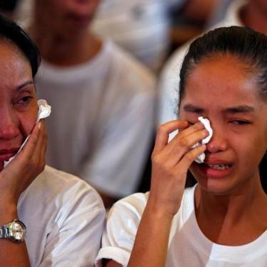 Philippines: Abusive 'Drug War' Targets Children