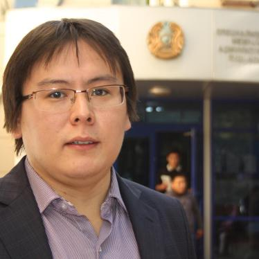 Kazakhstan: Editor Convicted