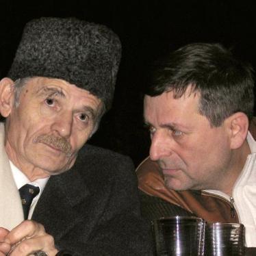 Crimea: Baseless Conviction of Crimean Tatar Leader