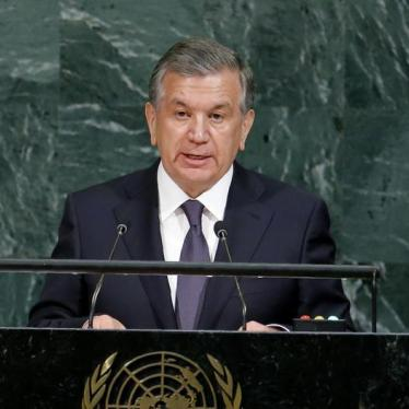 Uzbekistan's Leader Talks Rights, Now More Action Needed