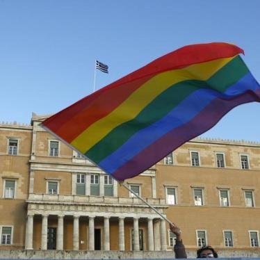Greece Should Do Better on Transgender Legal Recognition