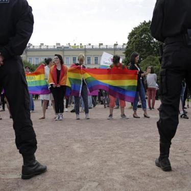 Russian Activist in Court on 'Gay Propaganda' Charge