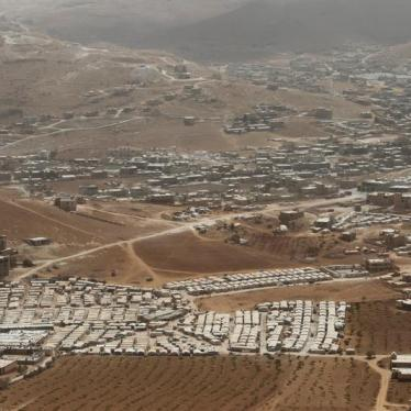 Lebanon: Refugees in Border Zone at Risk