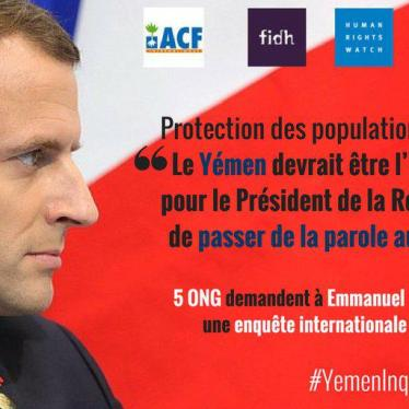Le Yémen, test diplomatique pour Emmanuel Macron