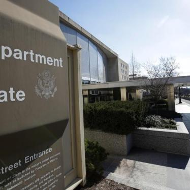 US State Department's First Steps at Reorganization Downgrade Human Rights