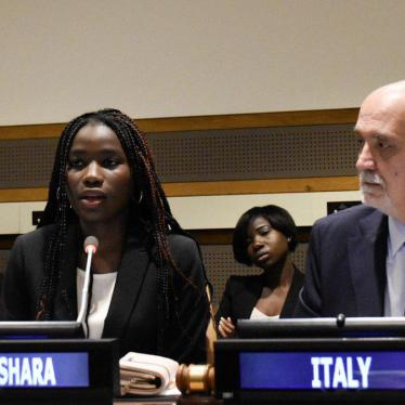 Girls Kidnapped by Boko Haram Share Their Stories at UN