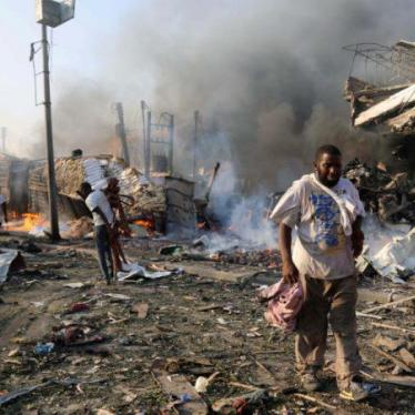 Somalia Bombing Takes Ghastly Civilian Toll