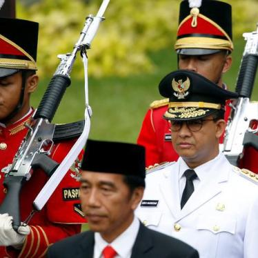Indonesia: Rights Agenda for New Jakarta Governor