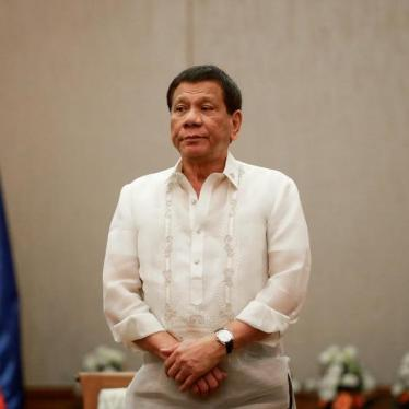 Justice May Be Coming for Philippine Strongman