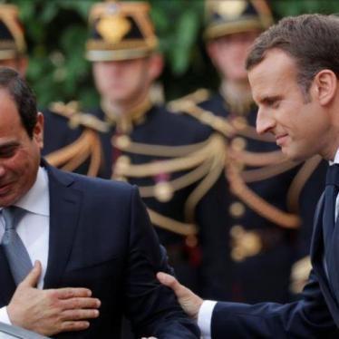 La France doit cesser d'ignorer la situation catastrophique des droits humains en Égypte