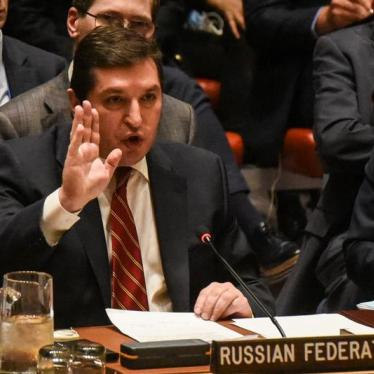 Russia: Don't Veto Extension of Syria Inquiry