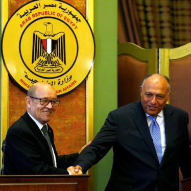 France: Stop Ignoring Egypt's Dire Rights Record