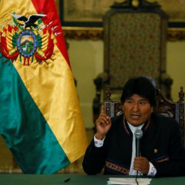 Bolivia's President Evo Morales speaks during a news conference at the Presidential Palace in La Paz, Bolivia, May 9, 2017.