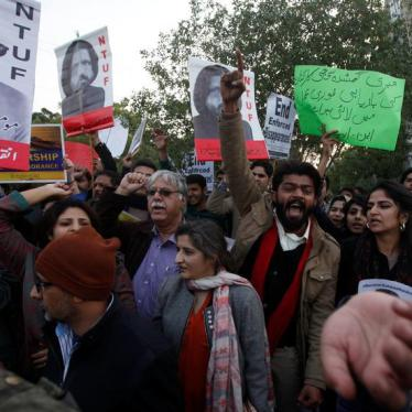 Pakistani Senator Works to End Enforced Disappearances