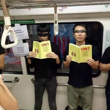 Singapore: Drop Case Against Peaceful Protester