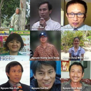 Vietnam: EU Should Press for Release of Political Prisoners