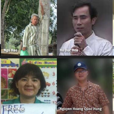 ベトナムの政治囚の釈放を!