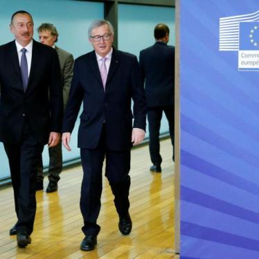 EU: Press Azerbaijan on Rights at Summit