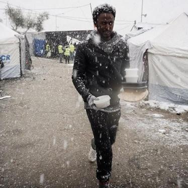 Greece: Move Asylum Seekers to Safety Before Winter Hits