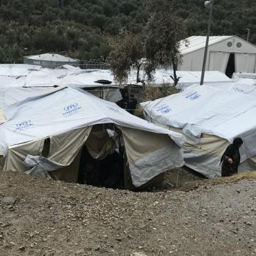 Asylum Seekers' Hell in a Greek 'Hotspot'