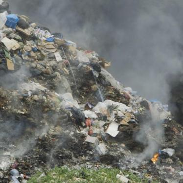 Lebanon: Set Vote on Waste Management Law