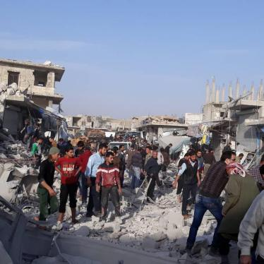Syria: In Talks, Focus on Protecting Civilians