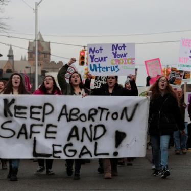 Six Week Abortion Bill a Dangerous New Low for US