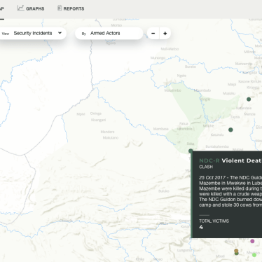 DR Congo: New 'Kivu Security Tracker' Maps Eastern Violence