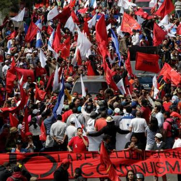 Honduras: Guarantee Credibility of Elections, Protect Free Expression