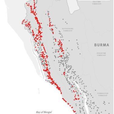 缅甸:10月迄今40罗兴亚村落被焚