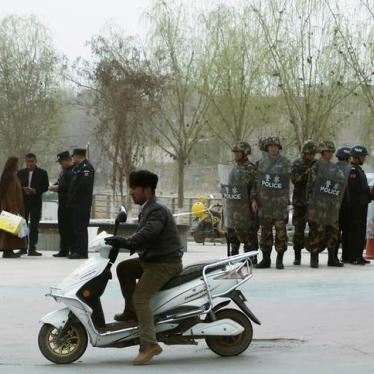US Firms' Sales to China's Police