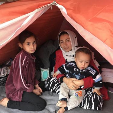 A Refugee Family in Greece Loses Everything as a Camp Burns Again