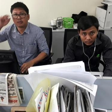 Burma: Journalists Feared 'Disappeared'