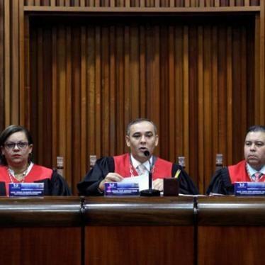 Venezuela, sin Estado de derecho
