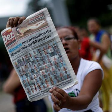 Brazil: Regain Control of Prison System