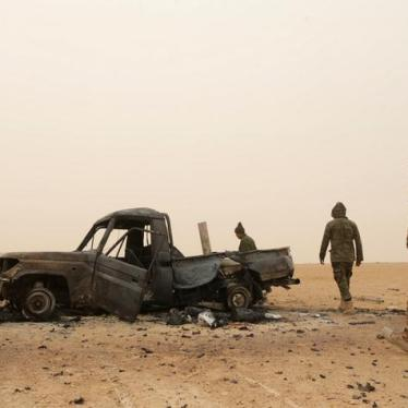 Libya: Mass Executions Alleged at Military Base