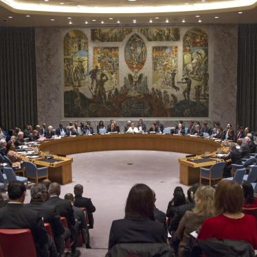Russia: Don't Veto Sanctions for Syria Chemical Attacks