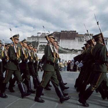 China: Cease Intimidation on Tibetan Anniversary