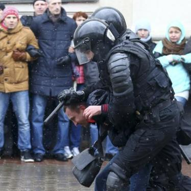 Belarus: 'Freedom Day' Crackdown