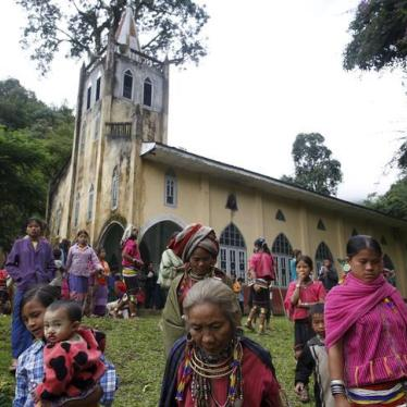 Burma: Release or Charge Kachin Christians