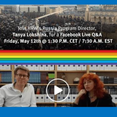 Attaques contre des hommes homosexuels en Tchétchénie