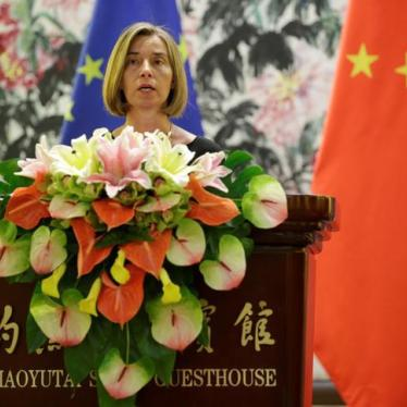China: EU Should Raise Rights Crisis on Visit