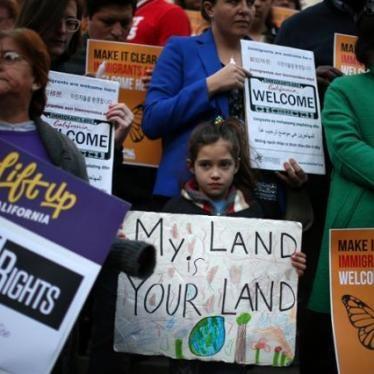 美国:移民备忘录将损及人权