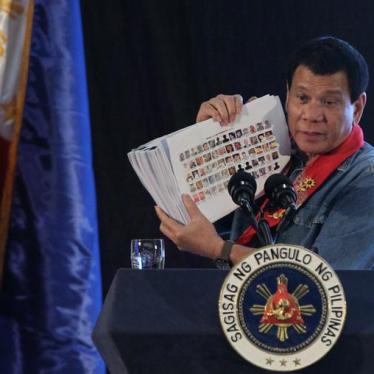 Killing and Lies: Philippine President Duterte's 'War on Drugs' Exposed