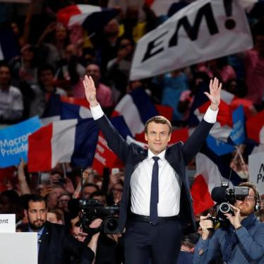 France: A Human Rights Agenda for President Macron