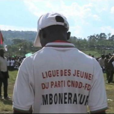 Burundi: Attacks by Ruling Party Youth League Members