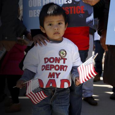 US Congress: Reject Draconian Anti-Immigrant Bill